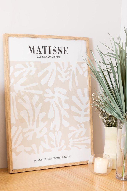 Decoratief blad (50x70 cm) Esens, galerij beeld 1