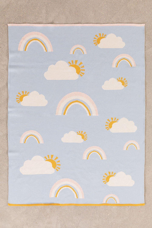 Ellie Kids katoenen deken, galerij beeld 1