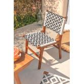 Cadeira de jardim em madeira teca Vana , imagem miniatura 1
