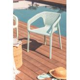 Cadeira ao ar livre com braços Frida, imagem miniatura 1