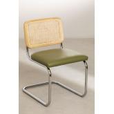 Cadeira de jantar em couro Tento, imagem miniatura 2