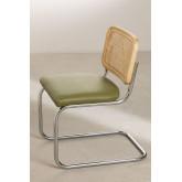 Cadeira de jantar em couro Tento, imagem miniatura 3