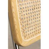 Cadeira de jantar em couro Tento, imagem miniatura 6