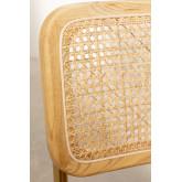 Cadeira de jantar em couro Tento Gold, imagem miniatura 5