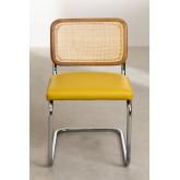 Cadeira de jantar em couro vintage Tento, imagem miniatura 3