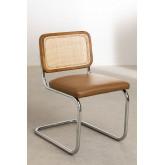 Cadeira de jantar em couro vintage Tento, imagem miniatura 2