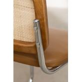 Cadeira de jantar em couro vintage Tento, imagem miniatura 6