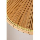 Candeeiro de tecto em folha de coco (Ø53 cm) Kilda, imagem miniatura 5
