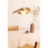 Candeeiro de tecto em folha de coco (Ø53 cm) Kilda, imagem miniatura 1