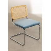 Cadeira de jantar de veludo vintage Tento, imagem miniatura 2