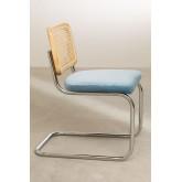 Cadeira de jantar de veludo vintage Tento, imagem miniatura 3