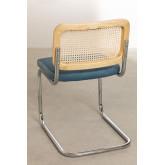 Cadeira de jantar de veludo vintage Tento, imagem miniatura 4