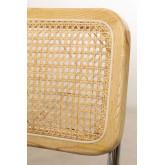 Cadeira de jantar de veludo vintage Tento, imagem miniatura 5