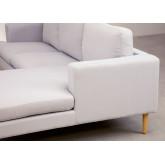 Sofá Chaise Longue 3 Lugares em Tecido Arnold, imagem miniatura 6