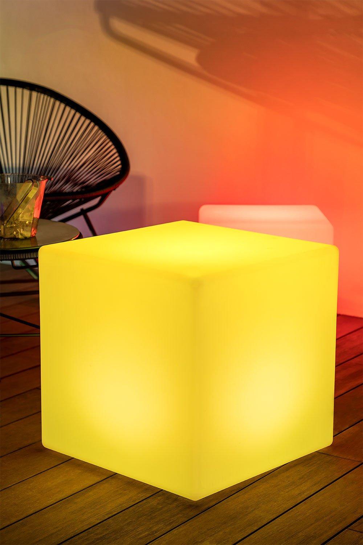 Abajur cubo outdoor led, imagem de galeria 1