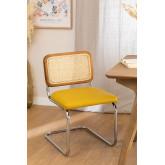 Cadeira de jantar em couro vintage Tento, imagem miniatura 1