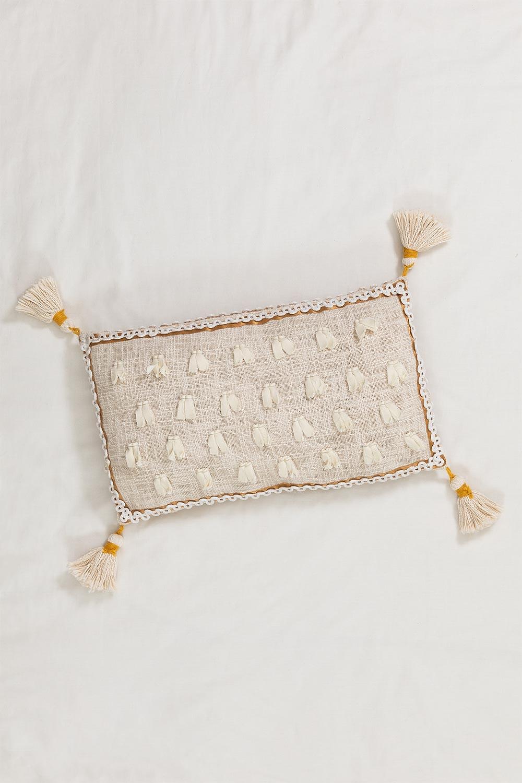 Capa de Almofada de Algodão Hari, imagem de galeria 1