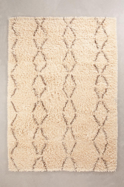 Tapete de algodão e lã (230x165 cm) Ewan, imagem de galeria 1