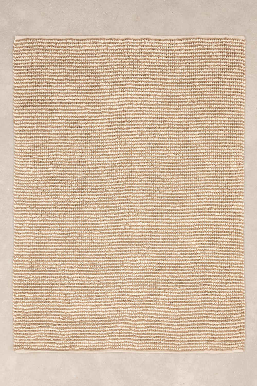 Tapete de juta e lã (230x165 cm) Prixet, imagem de galeria 1