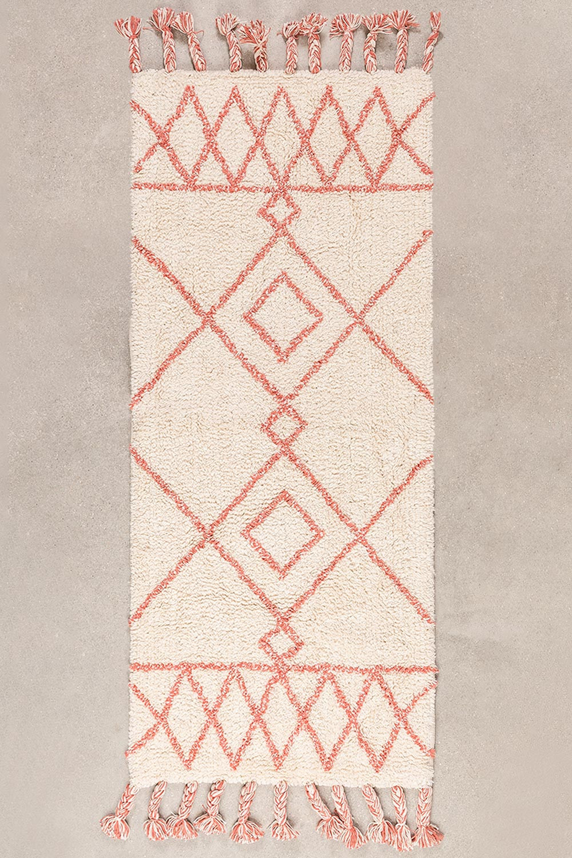 Tapete de banho de algodão (145x50 cm) Pere, imagem de galeria 1