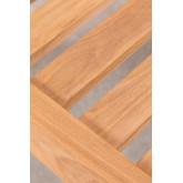 Repousa-pés de jardim em madeira de teca Confi, imagem miniatura 5