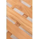 Cadeira de jardim com braços em Yolen de madeira de teca, imagem miniatura 6