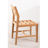 Cadeira de jardim em Yolen de madeira de teca, imagem miniatura 3