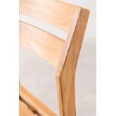 Cadeira de jardim em Yolen de madeira de teca, imagem miniatura 5