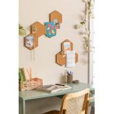 Pacote de 7 rolhas de parede Geom, imagem miniatura 1