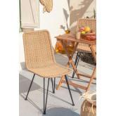 Cadeira de jardim de vime Sunset Vali, imagem miniatura 1