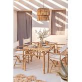 Mesa de bambu (150x80 cm) Marilin, imagem miniatura 1