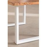 Mesa de centro de madeira reciclada Sami, imagem miniatura 6