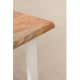 Mesa de centro de madeira reciclada Sami, imagem miniatura 5