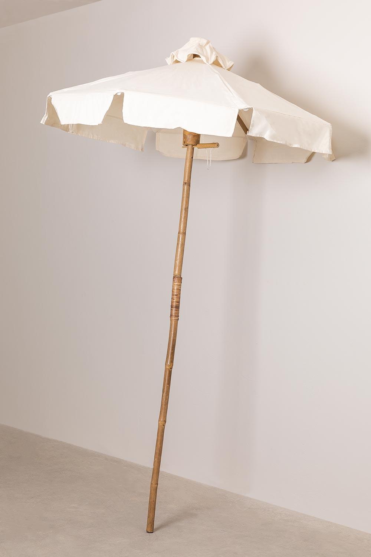 Guarda-sol de bambu (Ø140 cm) Umbry, imagem de galeria 1