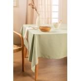 Toalha de mesa lisa (150 x 200 cm) Malvi , imagem miniatura 1