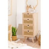 Cômoda de madeira estilo Ralik, imagem miniatura 1