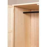 Guarda-roupa de madeira estilo Ralik, imagem miniatura 6