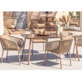 Conjunto de 4 cadeiras e mesa Arhiza Supreme Arhiza, imagem miniatura 1