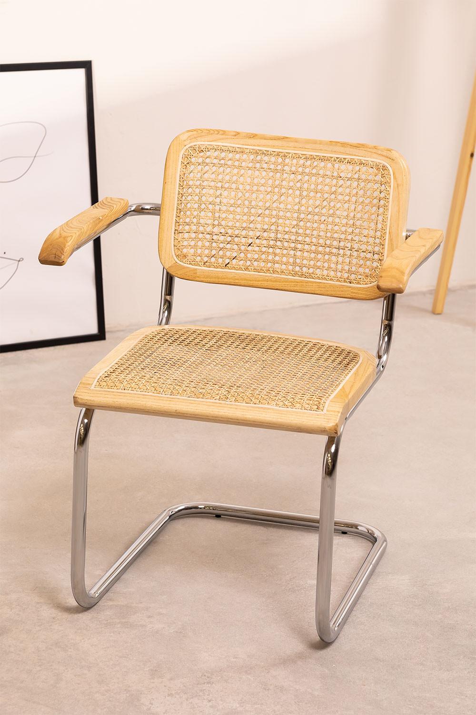 Cadeira de jantar Tento com braços, imagem de galeria 1