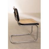 Cadeira de jantar de vime Tento, imagem miniatura 4