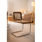 Cadeira de jantar de vime Tento, imagem miniatura 2