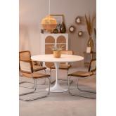 Cadeira de jantar de vime Tento, imagem miniatura 5