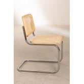 Cadeira de jantar de vime Tento, imagem miniatura 3