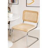 Cadeira de jantar de vime Tento, imagem miniatura 1