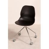 Cadeira de Escritório com Rodas Tech, imagem miniatura 3