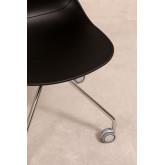 Cadeira de Escritório com Rodas Tech, imagem miniatura 6