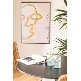 Impressão decorativa (50x70 cm) Retrato, imagem miniatura 1