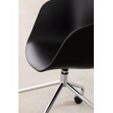 Cadeira de Escritório com Rodas Metalizada Yäh, imagem miniatura 5