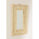 Espelho de parede retangular em madeira (60x40 cm) Frey, imagem miniatura 2