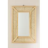 Espelho de parede retangular em madeira (60x40 cm) Frey, imagem miniatura 3